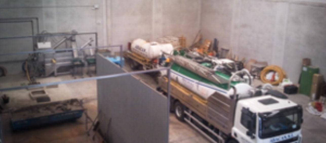 Planta de Pretratamiento de Lodos y Aguas Residuales